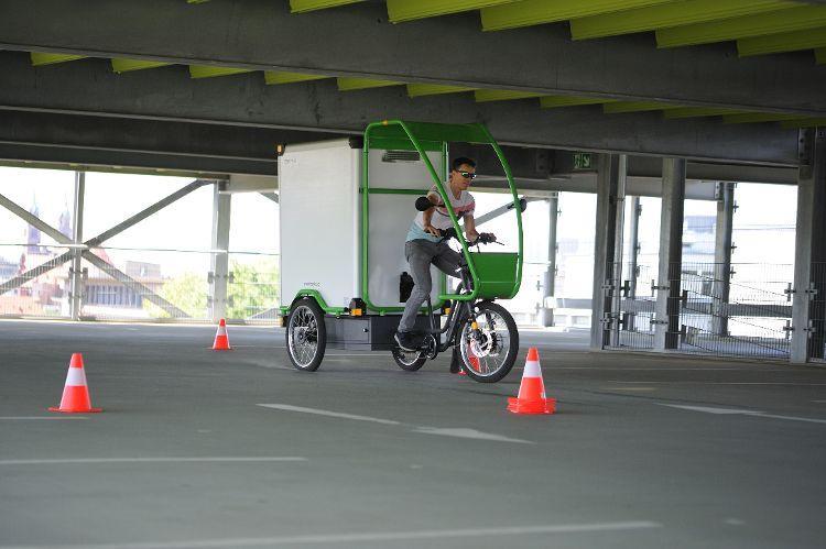 Lastenräder im Test für die gewerbliche Nutzung