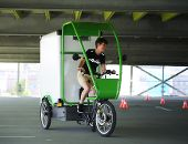 Lastenrad-Testtag für die gewerbliche Nutzung