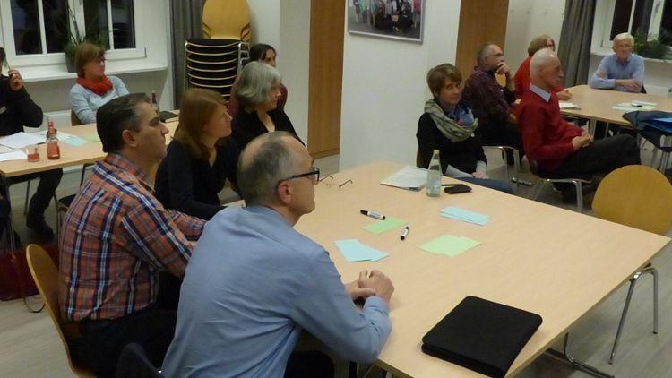 Die Bürgerinnen und Bürger sammelten Vorschläge für die nachhaltige Stadt.
