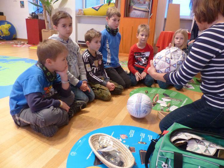Kinder entdecken ihre Stadt