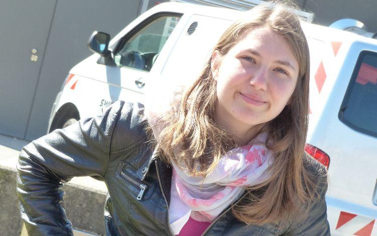 Carina Mitterhofer schreibt eine Masterarbeit über das Nachhaltigkeitsbewusstsein der Neumarkterinnen und Neumarkter.