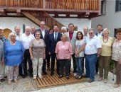 Straubinger Delegation besucht Bürgerhaus