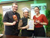 Lizzy Aumeier ist Botschafterin der Fairen Metropolregion