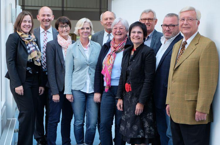 Stiftungsrat und Vorstand der Bürgerstiftung Region Neumarkt (Foto: Sturm)