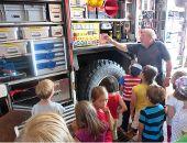 Kinder entdecken ihre Stadt - die Feuerwehr