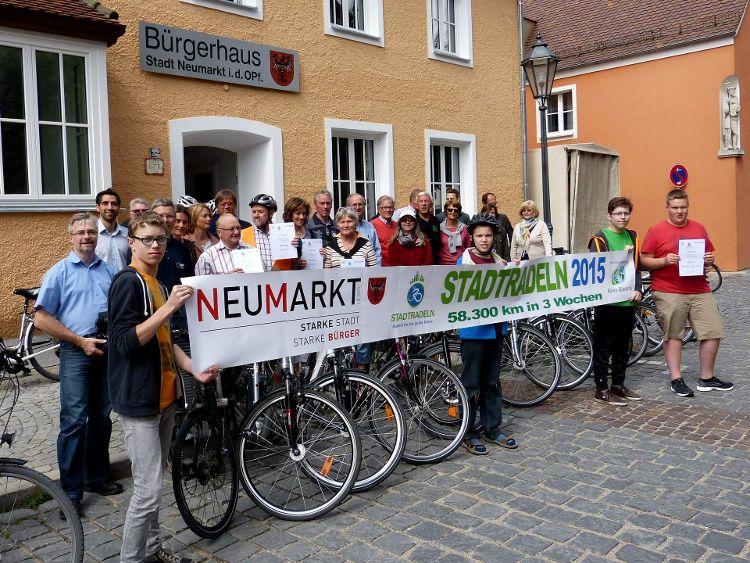 Stadtradeln 2015 - Deutlich mehr Beteiligung