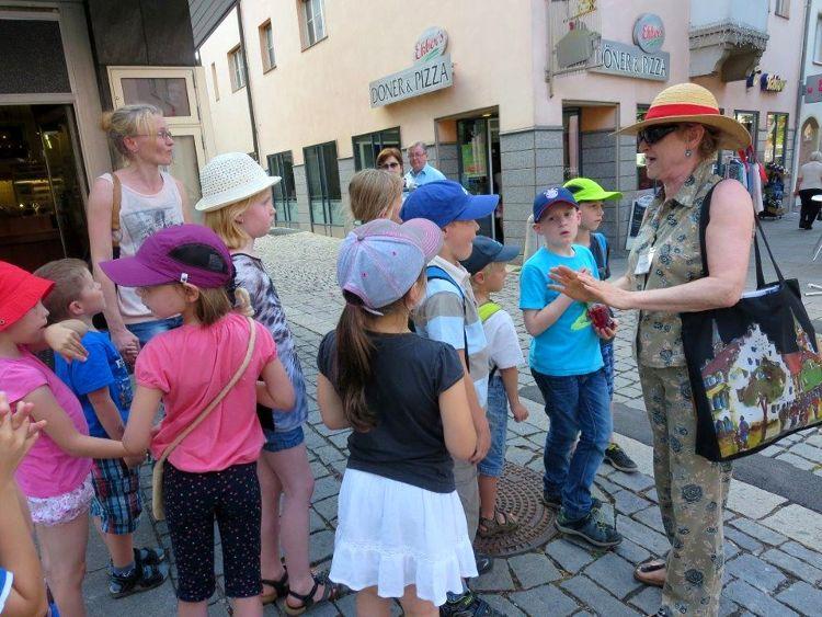 Kinder entdecken ihre Stadt - Stadtmauerführung