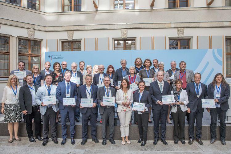 Auszeichnung für das Engagement im Klimaschutz