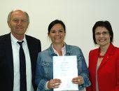 Sonja Bergold zur Zeitstifterin ernannt