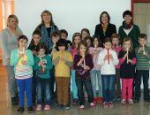 Flötenunterricht an der Theo-Betz-Schule