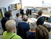 Besichtigung bei der Hammerbacher GmbH