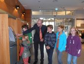 Kinder entdecken ihre Stadt - die Bank