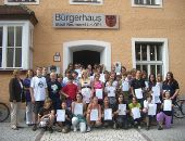 Zertifikat-Übergabe für 41 Schüler