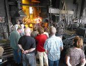 Besichtigung der Eisengießerei Ginter