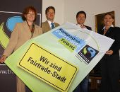 Erste Fair-Trade-Stadt Bayerns