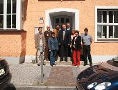 Besucher aus dem Ministerium
