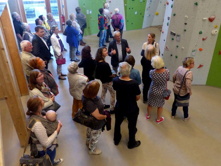Foto (Herbert Meier): Ehrenamtsabend der Freiwilligen Agentur Neumarkt