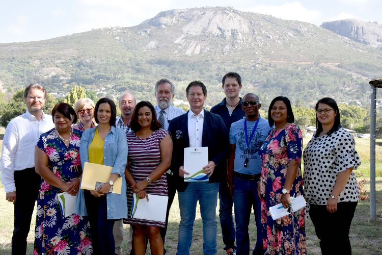 In Drakenstein in Südafrika entsteht mit Hilfe der Stadt Neumarkt und dem Bundesentwicklungsministerium ein sogenannter