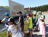 Kinder entdecken ihre Stadt - der Wertstoffhof