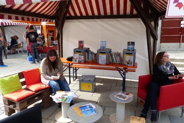 Stadtbücherei - Büchertausch