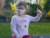 Bürgerstiftung verteilt Stoffmasken