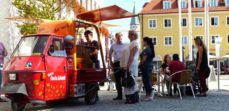 Das Faire Café Mobil ist während der Fairen Woche wieder im Einsatz!