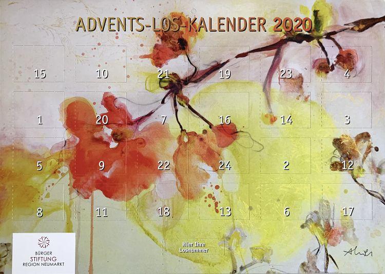 Ab 23. Oktober gibt es den Advents-Los-Kalender der Bürgerstiftung in der Tourist-Info und im Handel an den bekannten Verkaufsstellen.