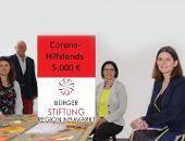 Bürgerstiftung legt Corona-Hilfsfonds auf