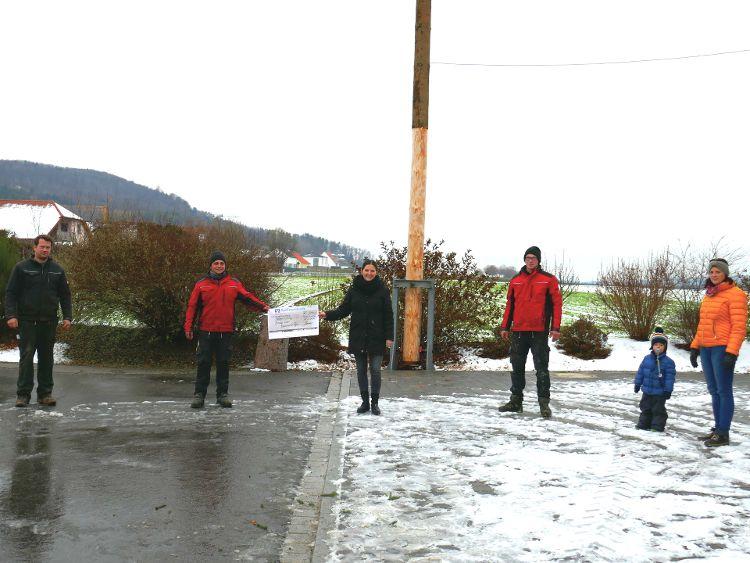 Foto: Helmut Rauscher - v.l.n.r.: Andreas Hiereth, Tobias Neumeier, Sophie Stepper, Maximilian Feierler, Anton Hiereth, Alexandra Hiereth.